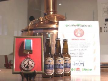 ブルーナイル受賞メダル