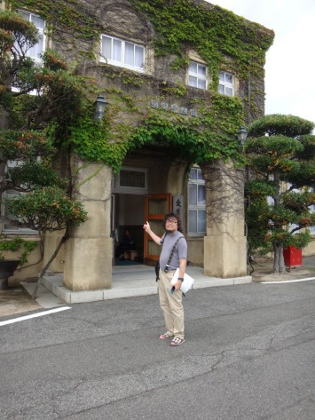 ハンセン病療養所の旧事務所(現・長島愛生園歴史館)