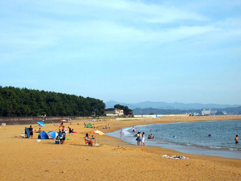 海の家_海辺