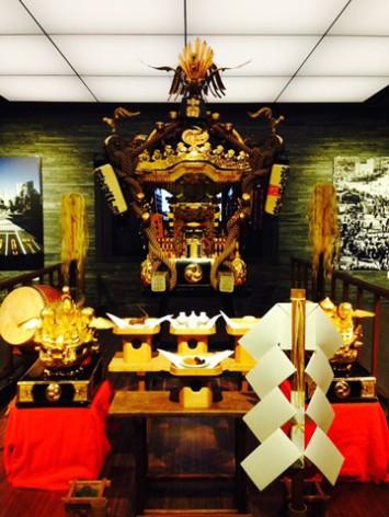 金王八幡宮例祭のお神輿