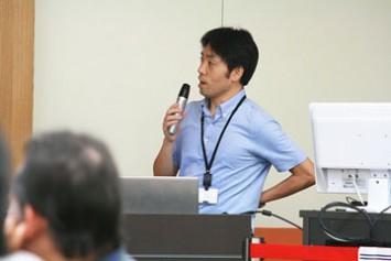 今回講師として登壇された神山天文台専門員の藤代尚文さん。