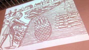 300年前の絵本に描かれるニシン漁