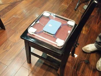 身体の動きを読み取る「Sense Chair」