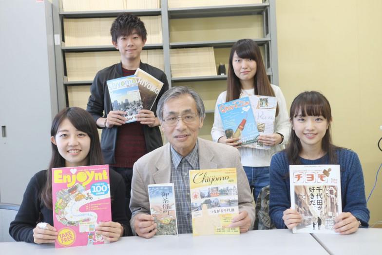 中央が小川教授