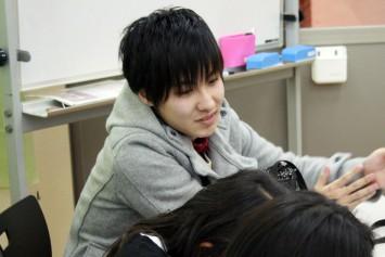 サードプレイス学生副代表・魚山さん(3年次生)