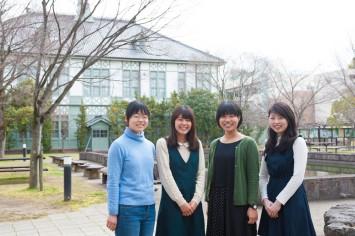 奈良の食プロジェクトのメンバー。左から藤田さん、西藤さん、長島さん、南さん