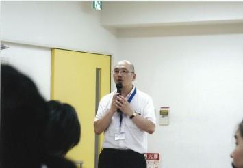 藍野大学 医療保健学部 作業療法士学科 中西栄一准教授