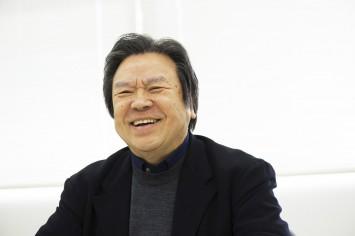 初開催のときから「OSAKA DESIGN FORUM」を見守る喜多俊之氏。
