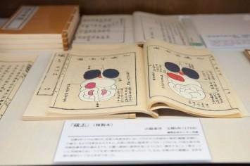 肝臓ではなく「観臓」の記録『蔵志』(1754年)※。官許を得た日本初の解剖だった