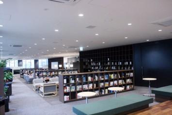 3階のライブラリスペース