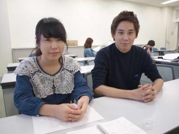 右:岩本菜桜さん 左:山口啓二郎さん