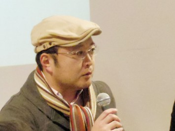 吉村和真氏(京都精華大学マンガ学部教授、京都精華大学国際マンガ研究センター研究員)