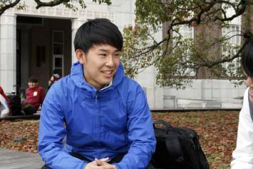 副代表の浅原祐太さん(京都大学総合人間学部4年生)