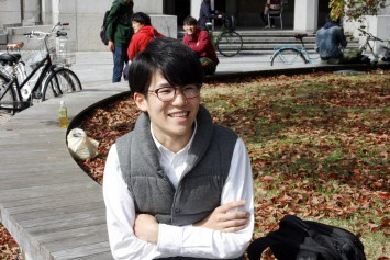 代表の松村真仁さん(京都大学総合人間学部4年生)