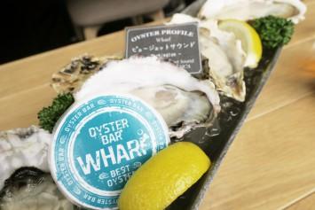 生牡蠣の食べ比べができるオイスタープラッター