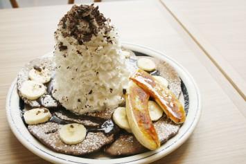 ショコラバナナパンケーキ