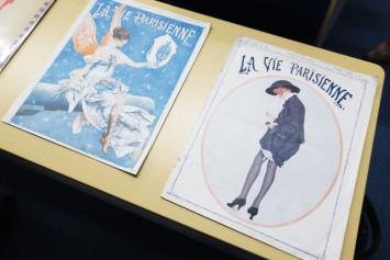 20世紀のファッション・プレートの一部。さりげないポーズや1枚の絵として完成度の高いものが多い