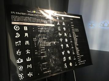 こちらが落ちてくる象形文字の一覧