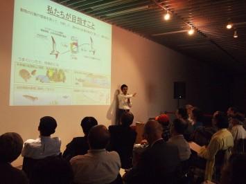 木村先生は生物の脳や神経科学の研究者。初心者にもわかりやすい解説