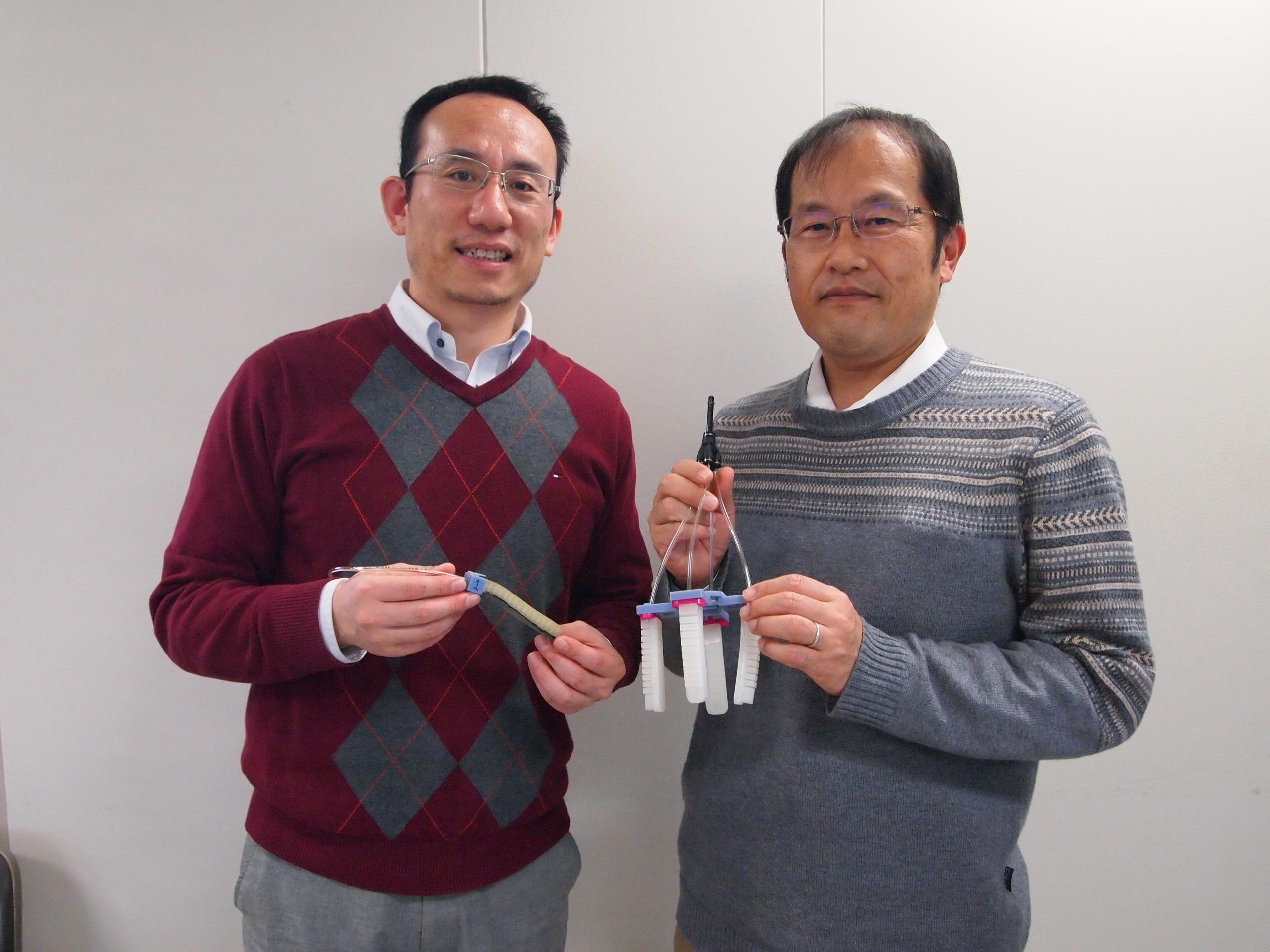 平井先生と王忠奎先生