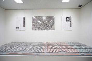 第9階ヴェネチア・ビエンナーレ国際建築展に展示された「コミックマーケットの箱庭」。よ〜く見てください!一つひとつにイラストが描かれています。