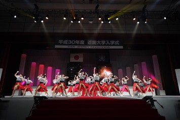 新入生も含めて25人のメンバーが在籍するKINDAI GIRLS2018