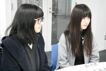 左:高井佑理さん 右:瀧内彩加さん