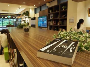 カフェにある本は少しお値段を下げているものもあるので、要チェックです
