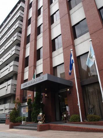 9号館(国際交流会館)1階にある