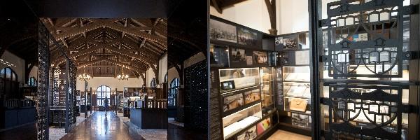 2014年に開館した立教学院展示館は、資料や写真、映像で同大の伝統を知ることができます