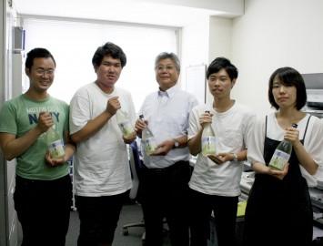 お話を伺った皆さん。左から濱 彰悟さん、東 世人さん、河田尚之先生、吉田健司さん、吉筋有紗さん