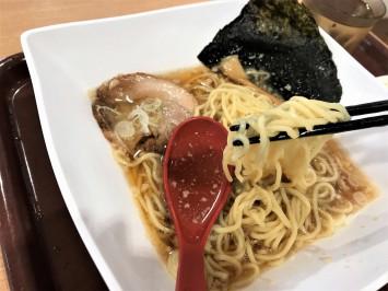 細めの生麺