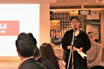 ㈱無印計画代表取締役会長の金井氏