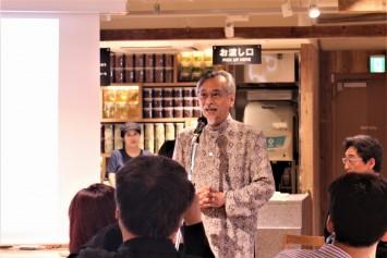 蔵野美術大学学長の長澤氏