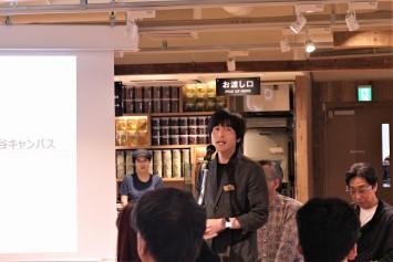 「MUJIcom 武蔵野美術大学市ヶ谷キャンパス」店長の伊藤氏