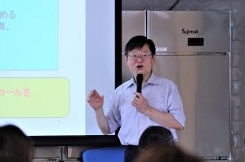 東京農業大学の名誉教授である舘博教授