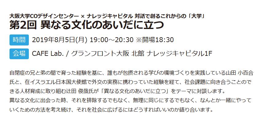 Screenshot_2019-07-18 大阪大学COデザインセンター × ナレッジキャピタル 対話で創るこれからの「大学」 第2回 異なる文化のあいだに立つ|超学校|アクティビティ|ナレッジキャピタル