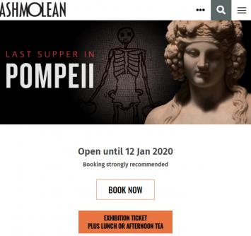 1LAST SUPPER IN POMPEII Ashmolean Museum