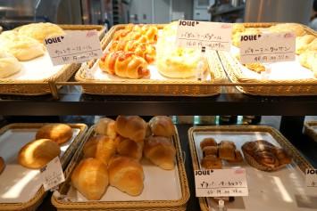 「JOLIE」のパン。種類があって楽しい