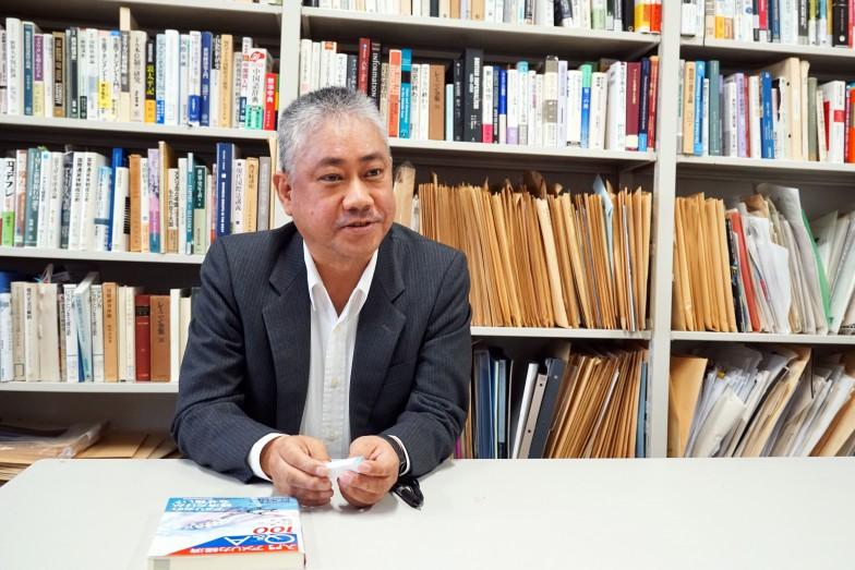 坂出先生インタビュー