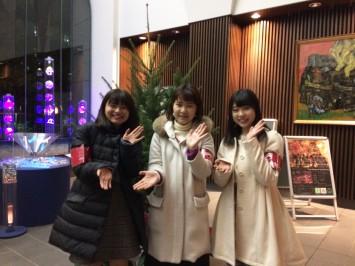 (左から)黒田桐子さん、塩野千恵さん、樽見清香さん
