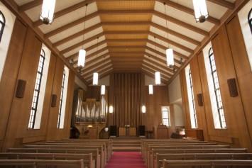 コンサートが行われるランバス礼拝堂