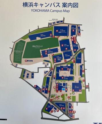 神奈川大学のキャンパスマップ
