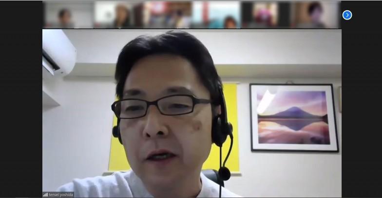 吉田さんは時折俵太さんに時折ツッコミをいれつつ、参加者との会話を橋渡し