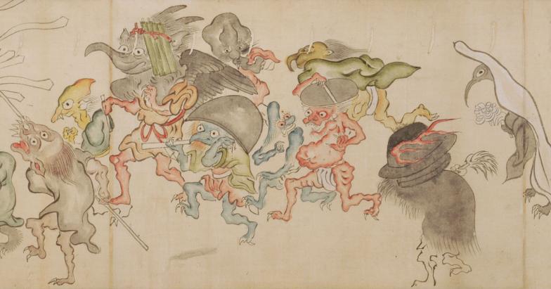 百鬼夜行絵巻(部分)※資料所蔵・提供:国際日本文化研究センター