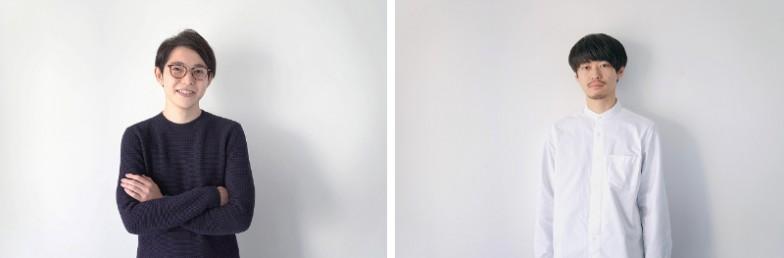 平瀬 謙太朗さん(左)/豊田 真之さん(右) 東京藝術大学大学院 映像研究科 佐藤雅彦研究室を修了し、その後、デザインスタジオ「CANOPUS」を立ち上げ。佐藤雅彦教授と共に3名で番組内容を企画し、平瀬さんがプロデュース、豊田さんが映像・音楽のディレクションを担当。