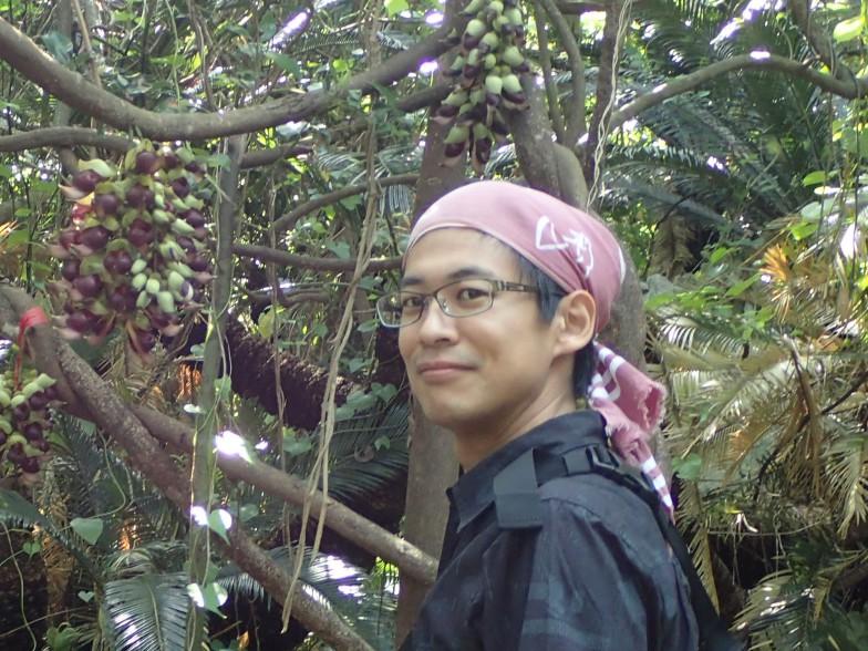 子どものころは昆虫少年だったという小林峻さん。沖縄の動植物に魅了されて琉球大学へ