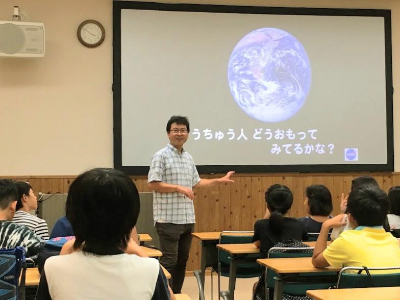 一般の方や子ども向けの講演会も積極的に行う鳴沢先生