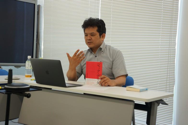 映画『メッセージ』を絶賛する宮﨑先生。「なぜ今回、私がお話しすることになったかもよくわかります(笑)」