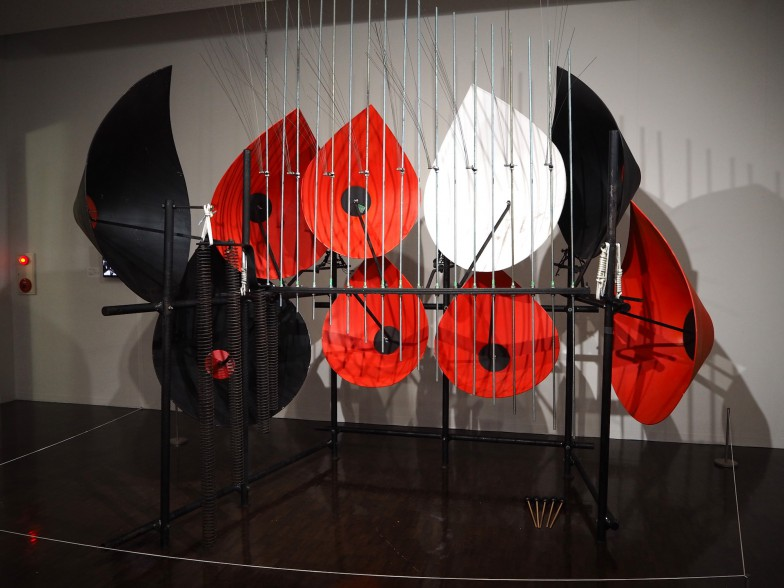 赤・白・黒のカラーリングが印象的な「川上フォーン」
